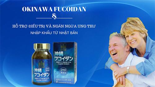 Okinawa Fucoidan Nhật Bản được nhiều người tin dùng