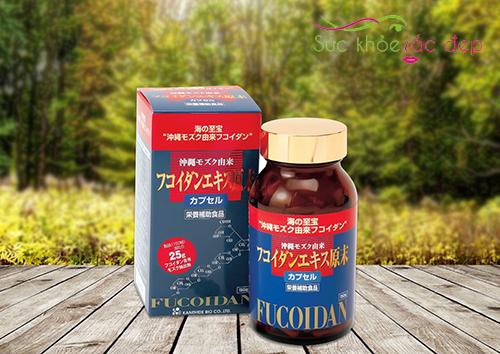Fucoidan Okinawa Kanehide Bio có nguồn gốc tự nhiên
