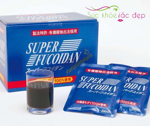 Super Fucoidan có dạng nước dễ sử dụng
