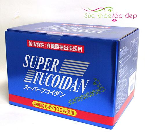 Super Fucoidan dạng nước Nhật Bản