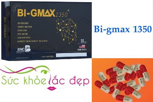 Tác dụng của Bi-gmax tốt cho gan