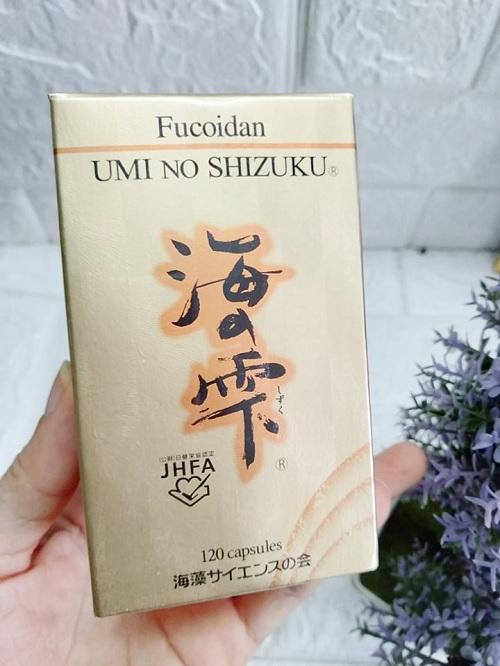 Umi No Shizuku Fucoidan Nhật Bản