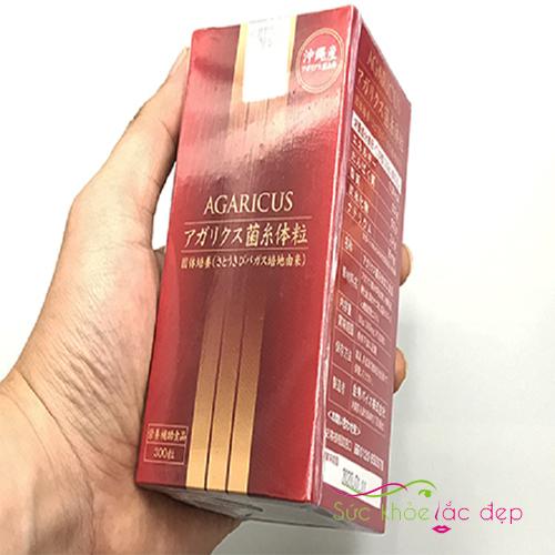 Viên thể nấm Agaricus review từ người dùng