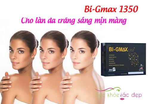 Bi Gmax 1350 giúp làm đẹp da hiệu quả