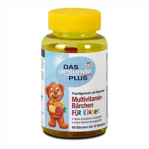 das gesunde plus multivitamin lọ 60 viên của Đức