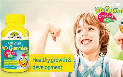 Kid smart vita gummies omega 3 giúp bé thông minh, khỏe mạnh và tiêu hóa tốt