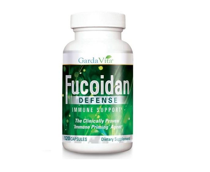 Fucoidan defense hộp 120 viên USA - Ung thư không còn là nỗi lo