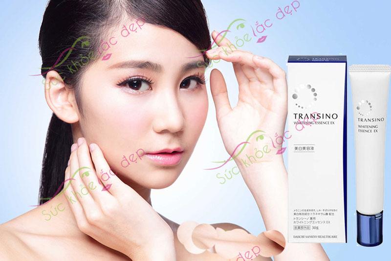 Transino whitening essence ex 30g giúp duy trì một làn da tươi trẻ đầy sức sống