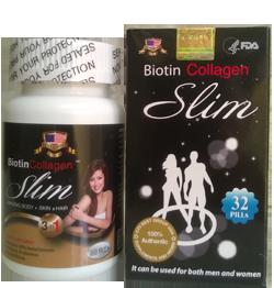 Biotin Collagen Slim - TPCN giảm cân chứa collagen