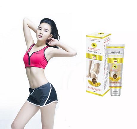 Kem tan mỡ bụng Đinh Hương - giảm mỡ bụng hiệu quả