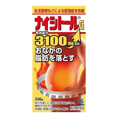 Viên giảm mỡ bụng  Naishitoru G 3100 Koybayashi