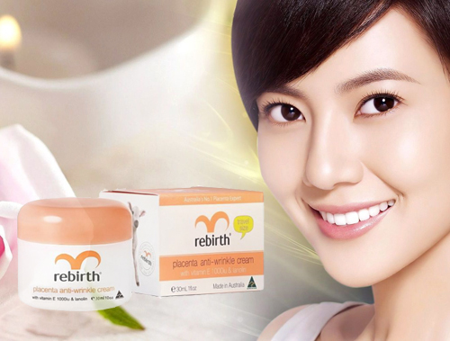 Kem dưỡng nhau thai cừu Vitamin E đem lại cho bạn làn da hoàn hảo