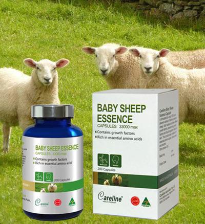 Công dụng của Baby Sheep Essence 33000 hộp 200 viên