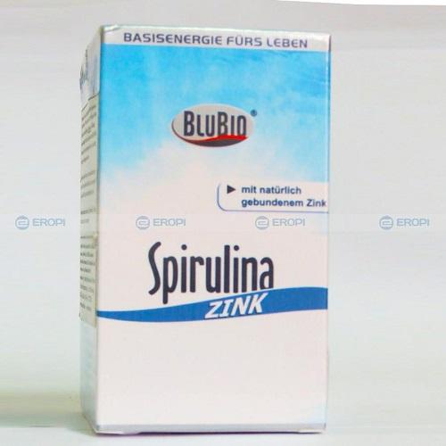 Tảo xoắn giúp tăng cường sức khỏe Spirulina Zink 180 viên