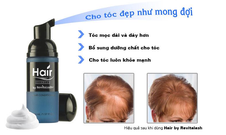 Tác dụng của sản phẩm mọc tóc RevitaLash Hair