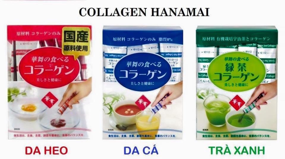 Bột collagn hanmamai là thức uống bổ dưỡng bán chạy nhất tại Nhật