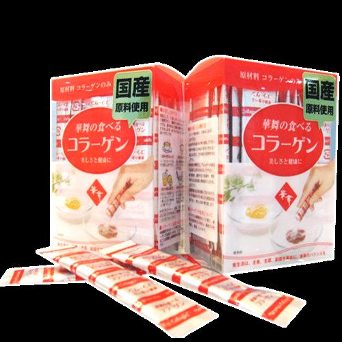 gói bột 100% collagen hanamai da heo của Nhật