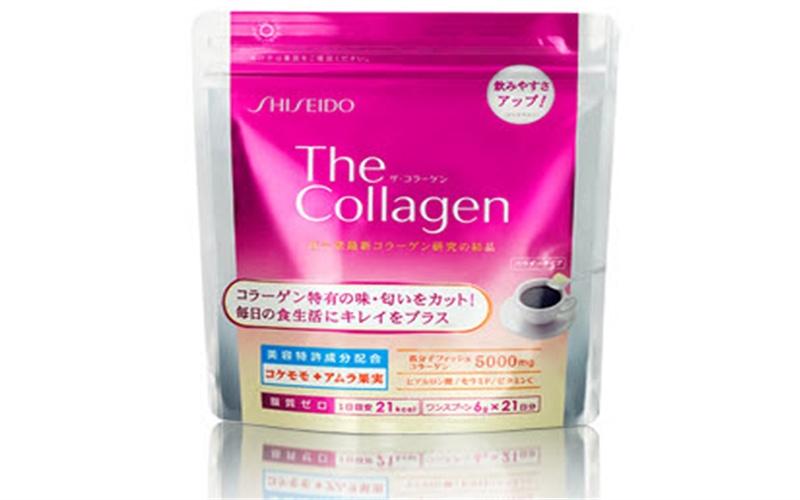 Shiseido the collagen dạng bột Nhật Bản 5000 mg - 126g