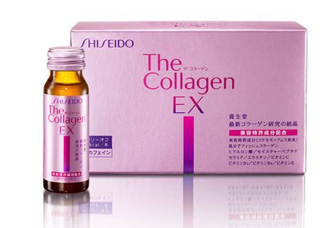 collagen shiseido ex dạng nước