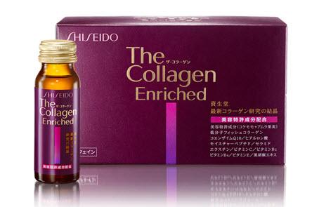 collagen dạng nước shiseido enriched