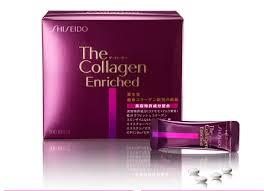 Collagen  Shieseido Enriched dạng viên mẫu mới nhất màu tím 240 v