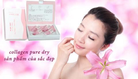 collagen pure dry sản phẩm của sắc đẹp