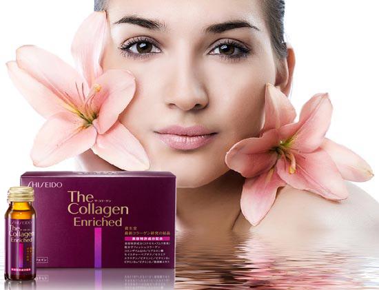 Shiseido the collagen enriched giúp trẻ hóa làn da
