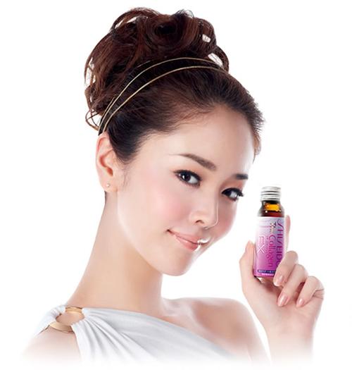 collagen shiseido Ex giúp da đẹp tự nhiên