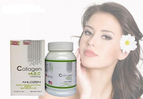 Viên uống collagen A, E, C 12000mg của Mỹ có tốt không?