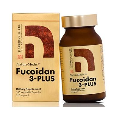 Naturemedic Fucoidan 3 Plus Phòng Chống Ung Thư Số 1 Nhật Bản Lọ 160v