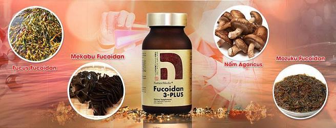 viên nang Naturemedic Fucoidan 3 Plus 160 viên