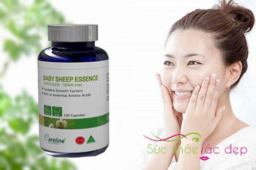 Placentra essence of baby sheep 30000 mg giá bao nhiêu