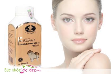 Nhau thai cừu của Úc Placentra Auhealth 180 viên