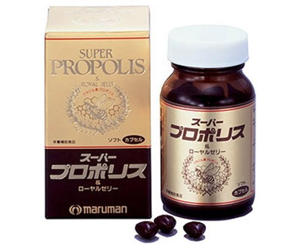 Sữa ong chúa Maruman Super Propolis 90 viên chính hãng Nhật Bản