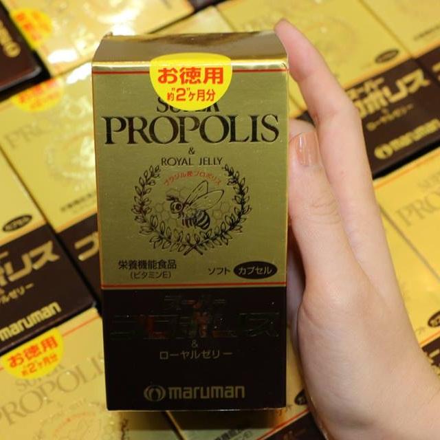 viên uống sữa ong chúa Maruman Super Propolis chính hãng ở suckhoesacdep.vn