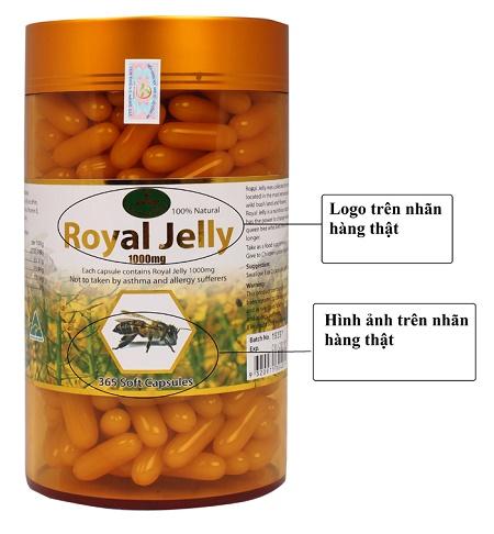 Cách phân biệt hàng giả sản phẩm sữa ong chúa úc