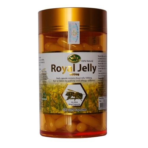 Viên sữa ong chúa royal jelly