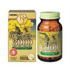 Viên sữa ong chúa tươi nguyên chất Orihiro 3000 mg Nhật Bản