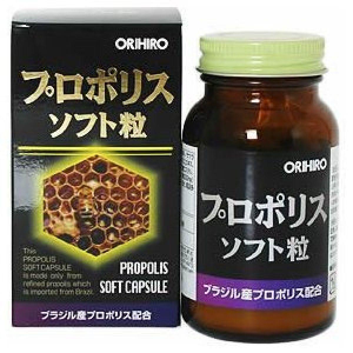 Viên uống bổ dưỡng - sáp ong Propolis Orihiro Nhật Bản hộp 120 viên