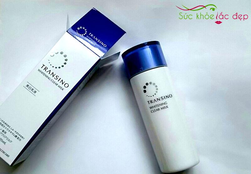suckhoesacdep.vn để được cung cấp dòng sản phẩm sữa dưỡng trắng da và trị nám Transino chính hãng