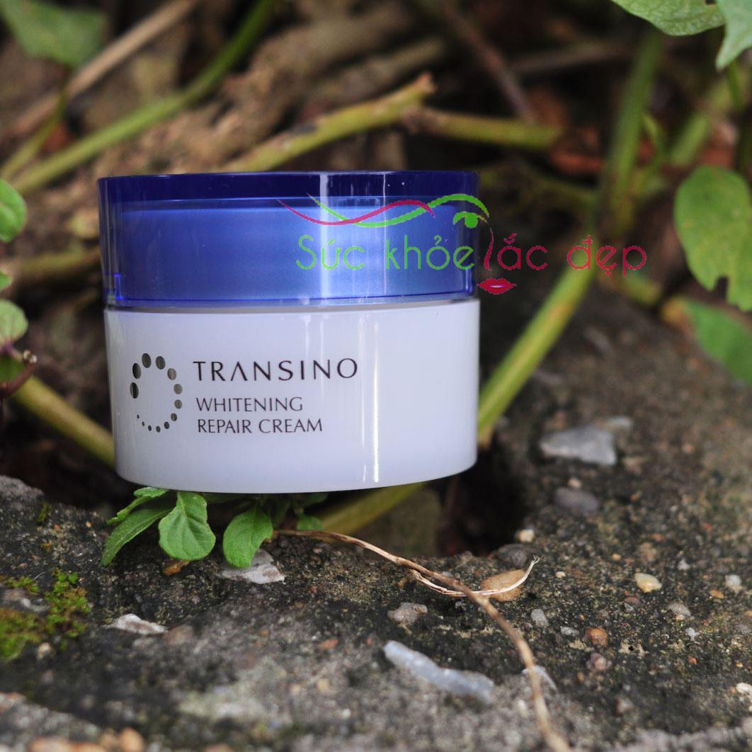 kem dưỡng Transino Whitening Cream 35g là một cứu tinh cho làn da