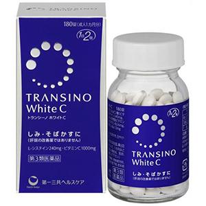 Transino white c Da trắng mặt xinh tự tin tỏa sáng hộp 180 viên