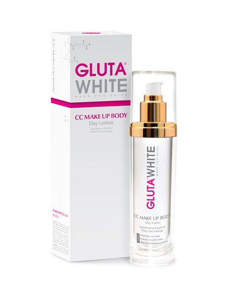 Kem trắng da trang điểm toàn thân Gluta White CC Makeup Body Day Lotion 120ml
