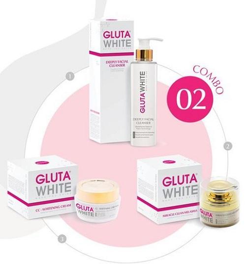 Combo 2: Gluta White liệu trình sạch nám tối ưu – Sản phẩm trị nám hàng đầu tại Việt Nam