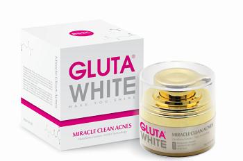 kem sạch mụn tận gốc Gluta white Mirac Clean Acnes