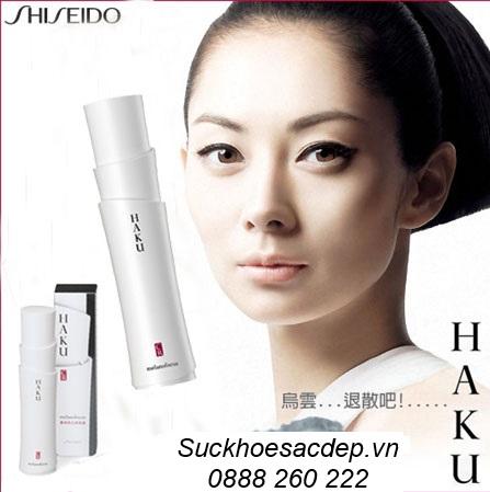 Cách điều trị nám da hiệu quả bằng kem Haku Shiseido Nhật Bản