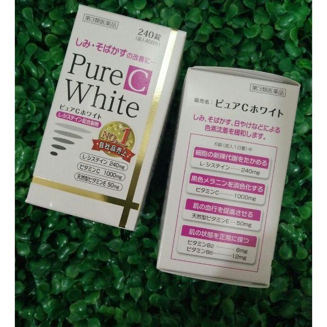 Pure C White An toàn với mọi làn da