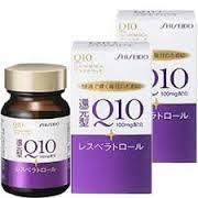 Viên uống chống lão hóa , làm đẹp da Shiseido Q10 Platinum Rich 100 mg