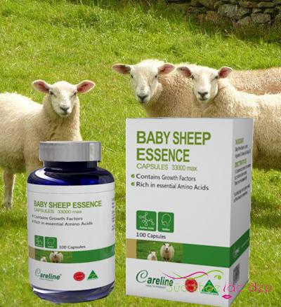 Công dụng của Baby Sheep Essence 33000 hộp 100 viên