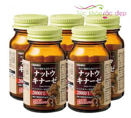 Đối tượng sử dụng Orihiro Nattokinase 2000 FU